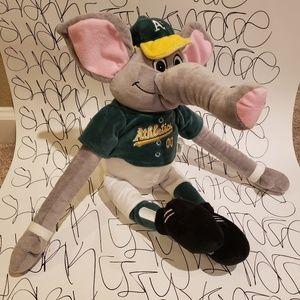 Oakland Athletics Plush Mascot Stomper Elephant